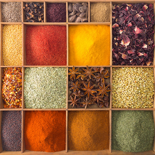 Spices Wall Art Print