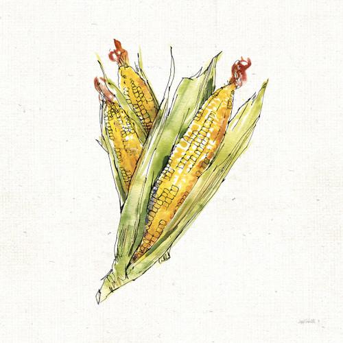 Veggie Market Corn III Wall Art Print
