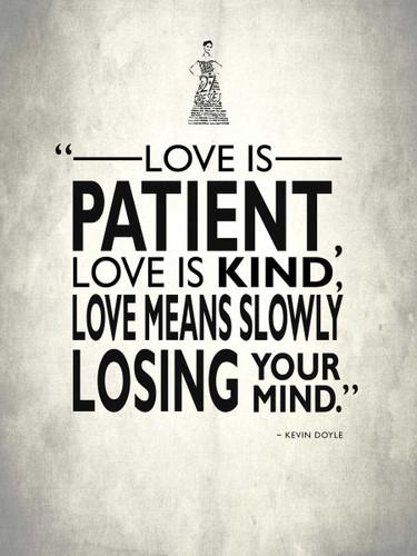 Love Is Kind Wall Art Print