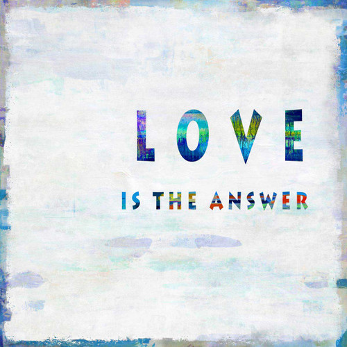 Love Is The Answer Wall Art Print
