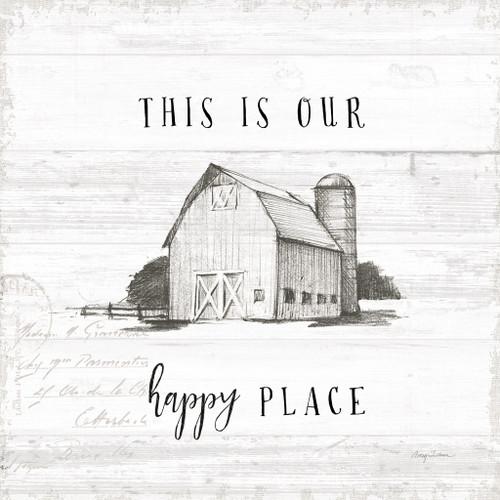The Farm Life Wall Art Print