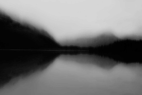 Mist on the Lake Wall Art Print
