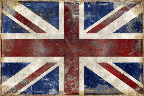 The England Flag Wall Art Print