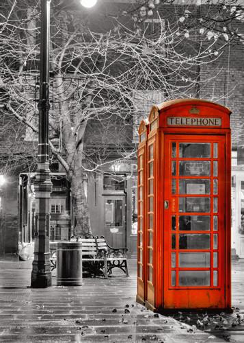 London Red Phone Wall Art Print