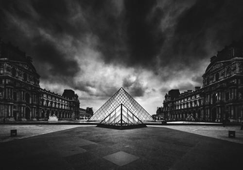 Louvre Wall Art Print
