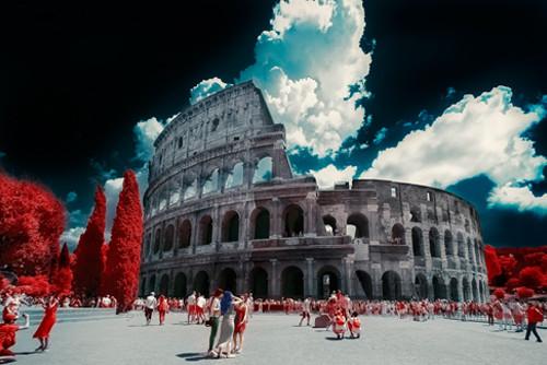 Rome Colosseum Wall Art Print