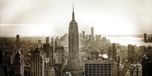 Vintage New York City Wall Art Print