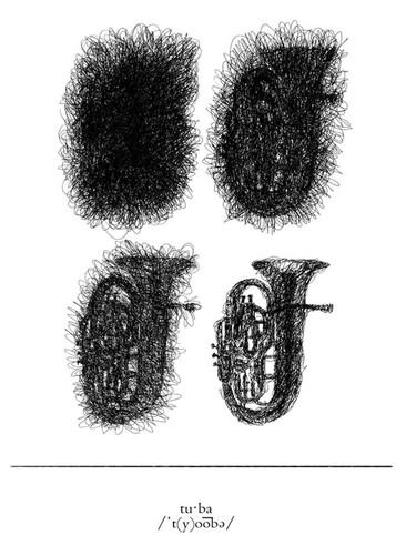 Tuba Wall Art Print