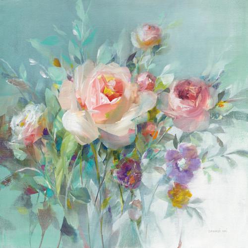 Summer Garden Roses Wall Art Print