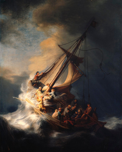 The Storm On The Sea Of Galilee Rembrandt