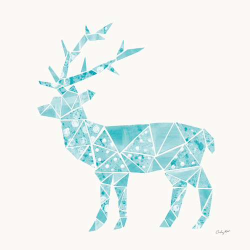 Geometric Animal IV Wall Art Print