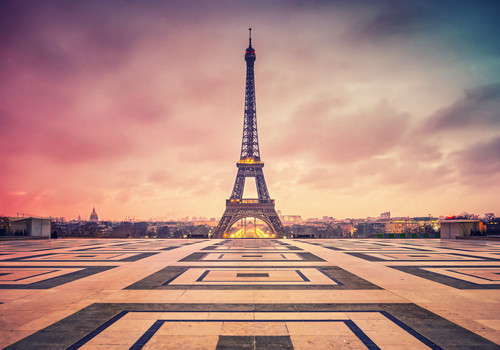 Awakening Paris Wall Art Print