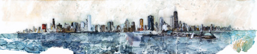 Chicago Skyline Wall Art Print