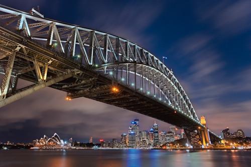 The Sydney Harbour Bridge Wall Art Print