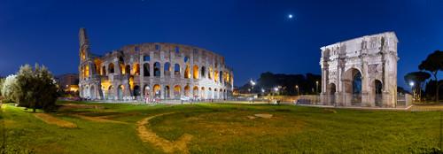 Colosseum Rome Wall Art Print