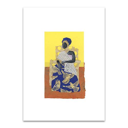 African Royals IV Wall Art Print