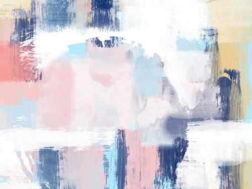 Spring Distressed I Wall Art Print