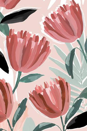 Dreamy Petals II Wall Art Print