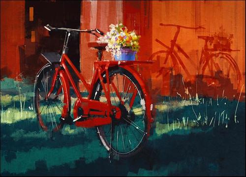 Vintage Bicycle Wall Art Print