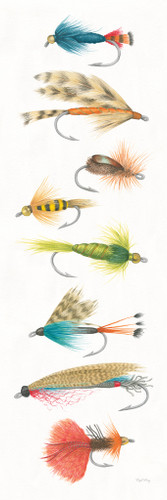 Gone Fishing Wall Art Print