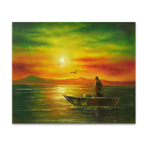 The Fisherman and His Boat