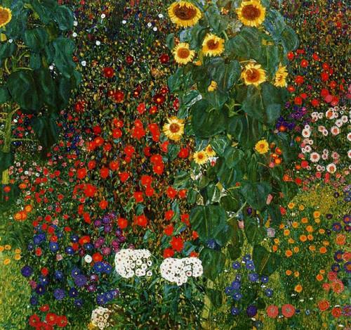Klimt | Farm Garden with Sunflower