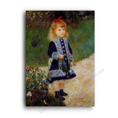 Renoir | A Girl With a Water Can