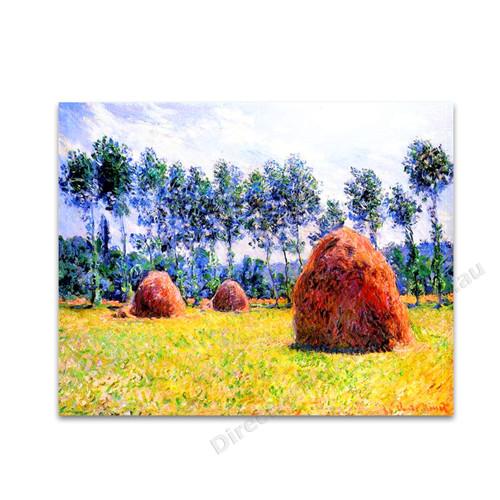 Haystacks at Giverny