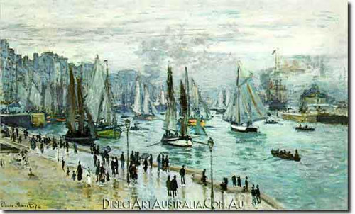 Monet | Fishing Boats Leaving the Harbor