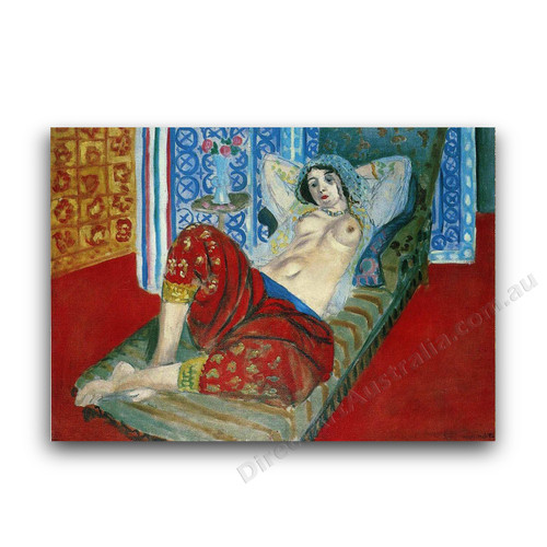 Odalisque with Red Culottes