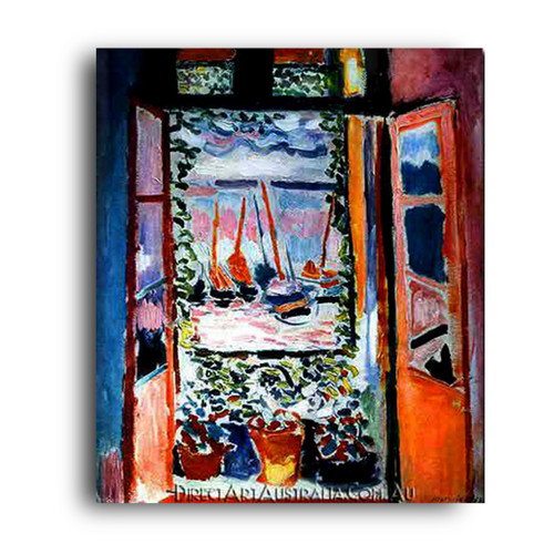 The Open Window,Collioure