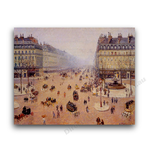 Avenue de l'Opera, Misty Weather