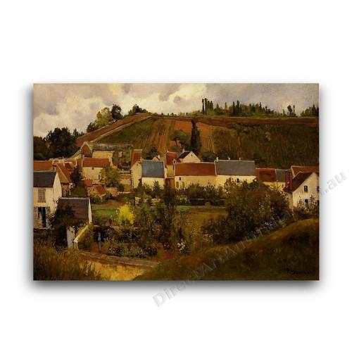 View of l'Hermitage Jallais Hills Pontoise