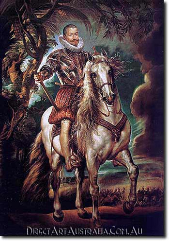 Paul Rubens | Equestrian Portrait of the Duke of Lerma