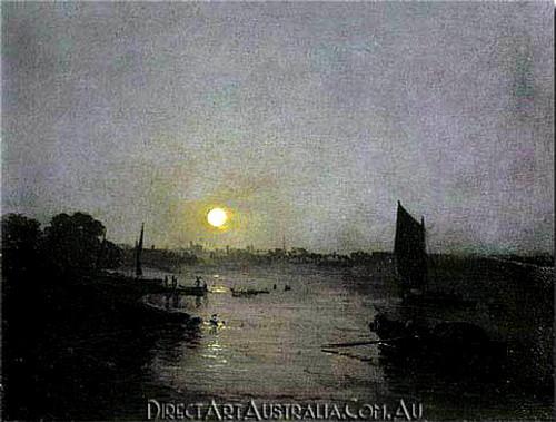 Moonlight, a Study at Millbank