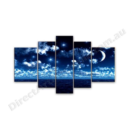 Dreamy Ocean Night