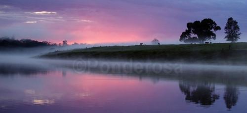 Lake in Dusk