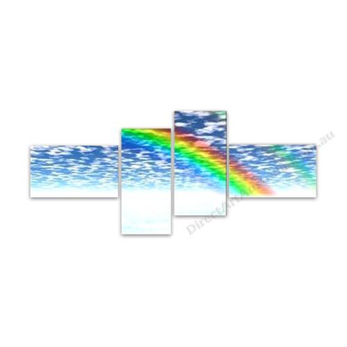 Rainbow and the Sky