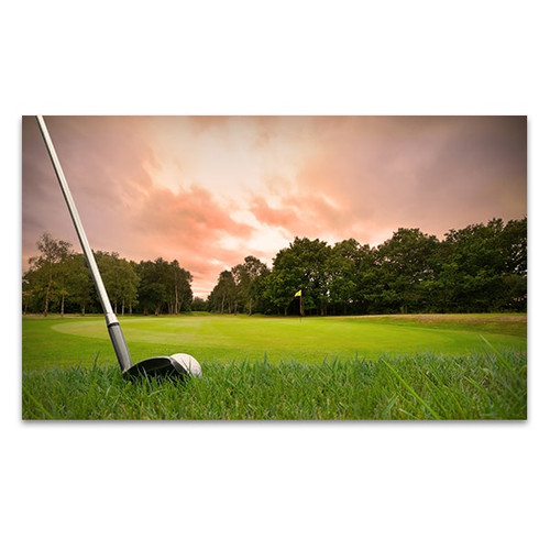 Golf Club Canvas Art Print