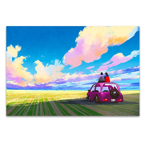Adventure Lovers Art Print