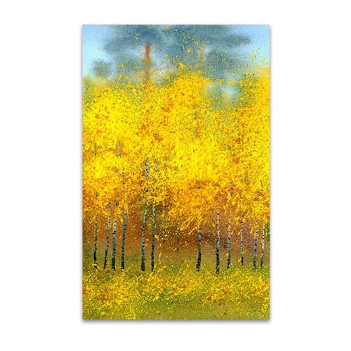 Autumn Trees Wall Art Print