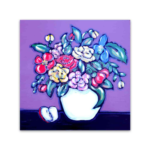 Brooke Howie | Purple Floral
