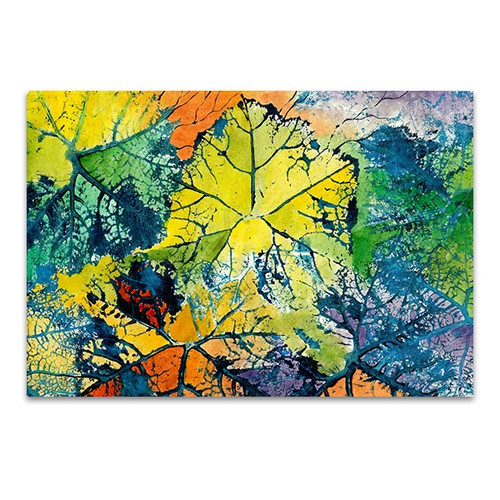 Colorful Leaves Wall Art Print