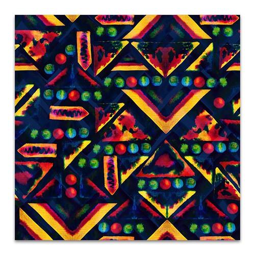 Colorful Ornament Canvas Print