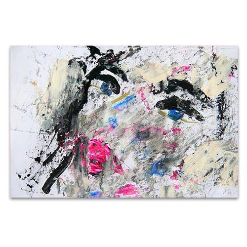 Dirty Portrait Canvas Art Print