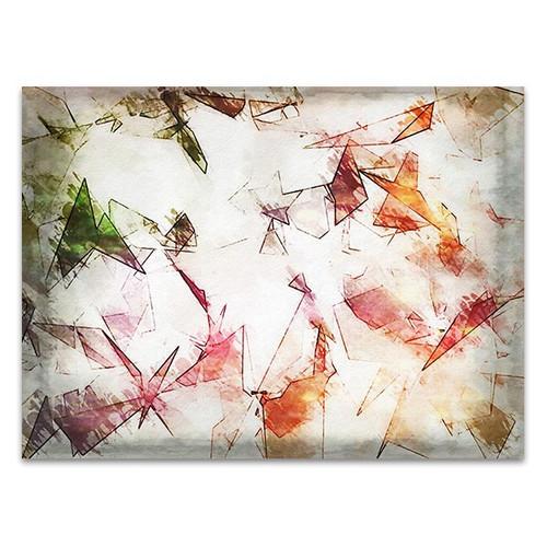 Elegant Colored Abstract Art Print