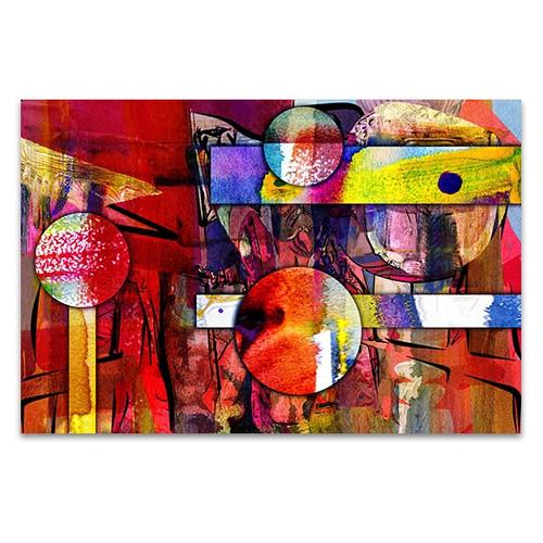 Mixed Media Canvas Art Print