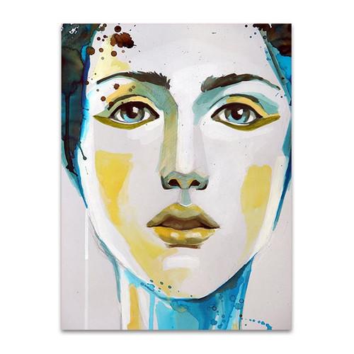 Self Made Portrait Art Print