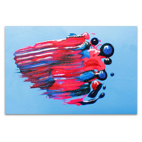 Sparkling Canvas Art Print