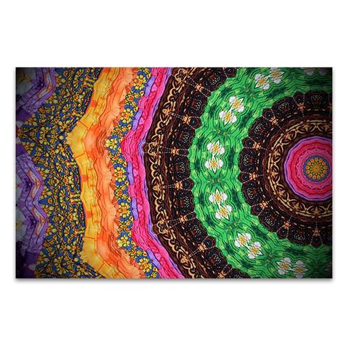 Technique In Cloth Fabric Art Print